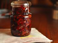 Cranberry Marmalade with Dried Apricots