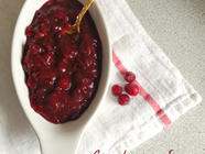 Cranberry Sauce with Juniper and Orange found on PunkDomestics.com
