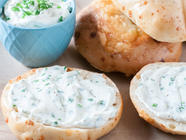 Chive Cream Cheese Spread found on PunkDomestics.com