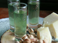 Homemade Creme de Menthe found on PunkDomestics.com