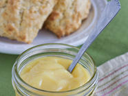 Lemon Curd and Lemon Ginger Scones