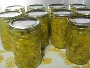 Dill Pickle Relish with Jalapeno Peppers found on PunkDomestics.com