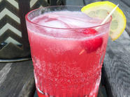Homemade Cherry Syrup & the Dirty Shirley found on PunkDomestics.com
