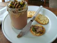 Chicken Liver Mousse with Pistachios