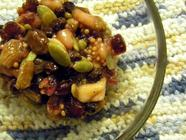 Pear Pepita Pomegranate Chutney
