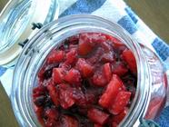 Asian Pear Cranberry Relish