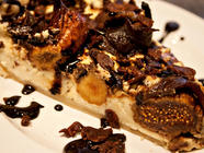 Duck Prosciutto, Fig & Goat Cheese Pie  found on PunkDomestics.com