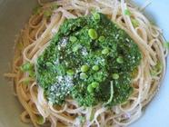 Fava Leaf Pesto