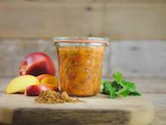 Fermented Nectarine Chinese 5-Spice Chutney found on PunkDomestics.com