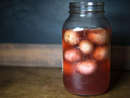 Pickled Eyeballs (Erm, Fermented Radishes) found on PunkDomestics.com