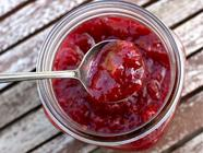 Honey Rhubarb Compote found on PunkDomestics.com