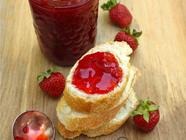 Honey Strawberry Jam found on PunkDomestics.com