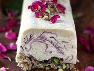 Rose Coconut Semifreddo