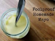 Foolproof Homemade Mayo found on PunkDomestics.com