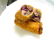 Reuben Eggrolls - Better Than Bacon?? found on PunkDomestics.com