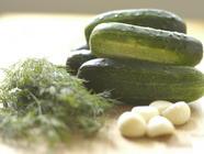 The Natural Pickle - Sour Garlic Dills found on PunkDomestics.com
