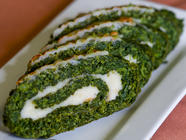 Garlic Mustard Roulade Recipe