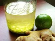 Ginger-Lime Gin found on PunkDomestics.com