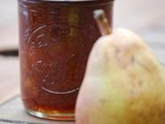 Comice Pear Gingered Jam