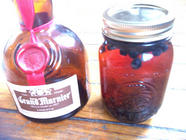 Grand Marnier Infused with Blueberries & Jam found on PunkDomestics.com