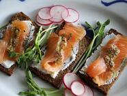 Gravlax - Cured Salmon found on PunkDomestics.com