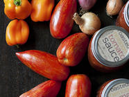 Roasted Heirloom Tomato Sauce found on PunkDomestics.com