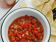 Tomato Salsa for Canning