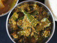 Indian Green Chili Pickle (Hari Mirch Achaar) found on PunkDomestics.com