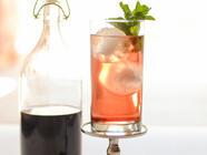 Homemade Shrub (Drinking Vinegar) found on PunkDomestics.com