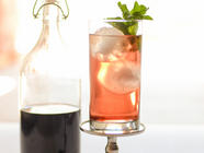 Homemade Shrub (Drinking Vinegar) found on PunkDomestics.com