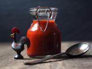 Homemade Sriracha found on PunkDomestics.com