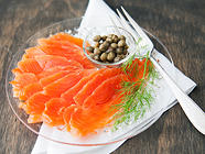 Homemade Salmon Lox found on PunkDomestics.com