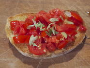 Wild Hoppy Bruschetta found on PunkDomestics.com