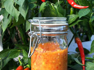 Sriracha (Chili & Garlic Hot Sauce) found on PunkDomestics.com