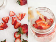 How to Make Strawberry-Infused Bourbon