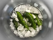 Ice-Brined Garlic Dill Pickles