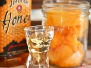 Maple Whiskey Peaches found on PunkDomestics.com
