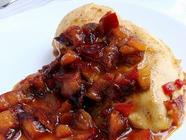 Roasted Pear & Plum Chutney