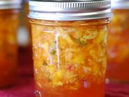 Jalapeno Peach Jam found on PunkDomestics.com