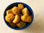 Pickled Jerusalem Artichokes found on PunkDomestics.com