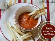 Fresh Homemade Ketchup