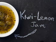 Kiwi Lemon Jam found on PunkDomestics.com