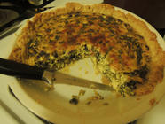 Japanese knotweed quiche found on PunkDomestics.com