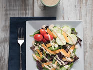 Lemon Tahini Dressing found on PunkDomestics.com