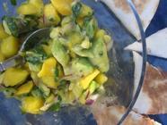 Mango Avocado Salsa found on PunkDomestics.com