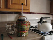 Mashing Grains in a French Press