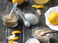 Meyer Lemon: Salt, Syrup, Pectin & Scrub