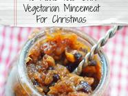 Super Easy Vegetarian Mincemeat found on PunkDomestics.com