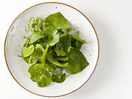 Foraging for Miner's Lettuce found on PunkDomestics.com