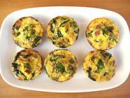 Wild Edible Mini Frittata found on PunkDomestics.com